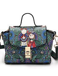 Womens Fashion Classic Crossbody Bag  red