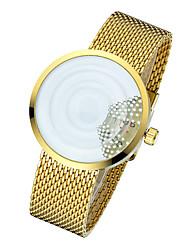 Men's Fashion Watch Unique Creative Watch Quartz / Alloy Band Casual Silver Gold