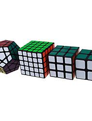 Shengshou® Cubo 2*2*2 3*3*3 5*5*5 Megaminx Velocità Livello professionale Cubi Nero Bianco Adesivo Smooth Anti-pop della molla regolabile