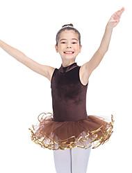 Tutus & JupesTulle VeloursFemme Enfant Rushé Fantaisie Spectacle Danse classique