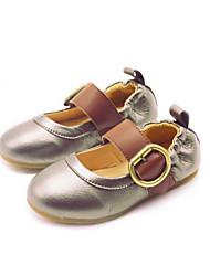 Mädchen-Stiefel-Lässig-PUKomfort-Schwarz Grau Gold