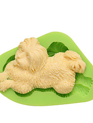 DIY Dog Shaped Mold Nonstick Silicone Animal Mould For Cake Candy Pudding Ice Chocolate Cookie