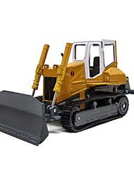 Veículos da construção Puxar para trás Veículos 1:10 Metal Amarelo