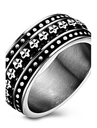 Punk Casual Fashion Originality Stainless Steel Tide Women SKull Ring Charm Ring For Men 316L Titanium Steel Party Rings