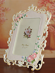 1PC European rural 6 inch resin photo frame Resin creative photo frame picture frame