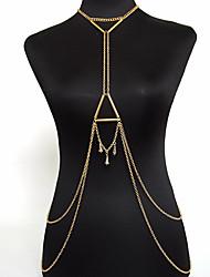 Bijoux de Corps/Chaîne de Corps Alliage Mode Bohême Doré 1pc
