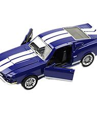 Race Car Toys 1:28 Metal Plastic Blue
