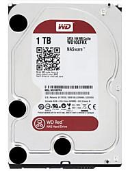 WD 1TB Área de trabalho do disco rígido 5400rpm SATA 3.0 (6Gb / s) 64MB esconderijoWD10EFRX
