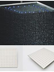 Contemporáneo Ducha lluvia Cepillado Característica for  LED / Efecto lluvia , Alcachofa de la ducha