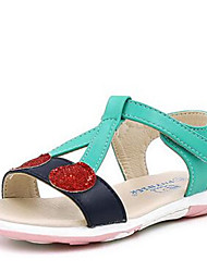 Girl's Sandals Comfort PU Casual Blue
