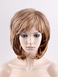 Europe and the United States in the new long paragraph fluffy light brown mixed modern high temperature wire wig