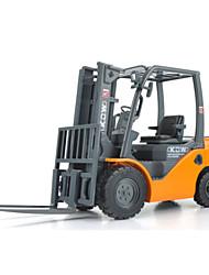 Landfahrzeuge Pull Back Fahrzeuge 1:10 Metall Plastik Gelb