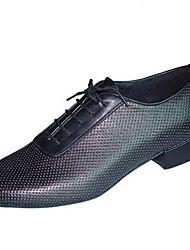 Customizable Men's Dance Shoes LeatheretteLatin Jazz Dance Sneakers Modern Swing Shoes Salsa Flats Sandals Heels Sneakers Low