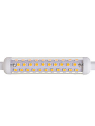 10W R7S LED à Double Broches T 86 SMD 2835 600-800 lm Blanc Chaud Décorative V 1 pièce