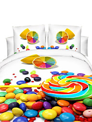 Mingjie 3D Reactive Other Bedding Sets 4 Pcs for Queen Size Contain 1 Duvet Cover 1 Bedsheet 2 Pillowcases from China