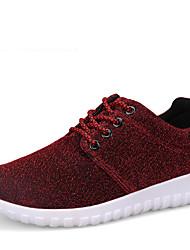 Women's Fabric Outdoor  Casual Flat Heel Running Shoes