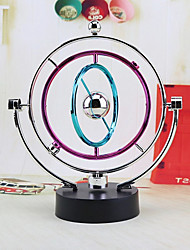 1 PC Color orbital electrodeless magnetic instrument perpetual wiggler magnetic swing ball office decoration