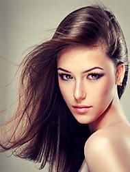não transformados peruano peruca de cabelo humano 8-26inch cor natural reta cabelo virgem
