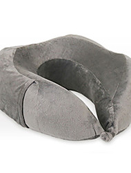 Travel Pillow U Shape for Travel RestBlack Gray Blue Navy