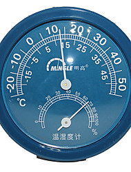 Random color Ming high TH108 household indoor temperature and humidity meter A mini temperature hygrometer preciseness