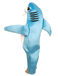 Inspired by CosplayParty Shark Costume Suits Solid Blue Leotard For Kid