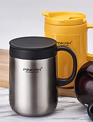 Minimalism Drinkware, 480 ml Heat Retaining Stainless Steel Milk Water Coffee Mug