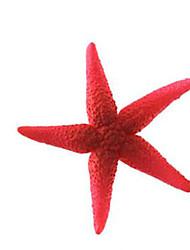 Aquário Decoração Ornamentos Atóxico & Sem Sabor Silicone Vermelho
