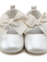 Baby Flats Spring Summer Fall Flower Girl Shoes First Walkers Crib Shoes Leatherette Wedding Outdoor Party & Evening Dress CasualFlat