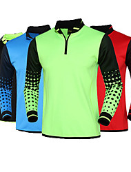 SPAKCT® Unisex Soccer Clothing Sets/Suits Comfortable Spring Summer Fall/Autumn Winter Polka Dots Polyester Football/Soccer RunningGreen