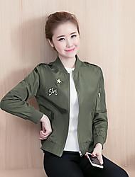 знак куртка женщин осень Корейский ярдов бейсбол равномерное с длинными рукавами кардиган куртки вышитые куртки тонкий студент