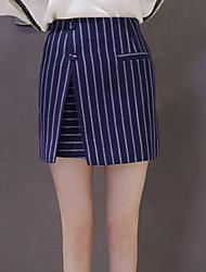 Zeichen 2017 Frühjahr neue koreanische dünne Röcke wildes Pack Hüfte Rock gefälschte Tasche ein Wort Rock Rock