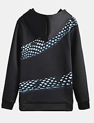 европейский и американский минималистский змея печать с капюшоном свитер пальто мужской весной корейской версии тенденции молодых