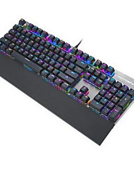 Motospeed CK108 USB Wired Game Keyboard - BLUE SWITCHES