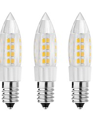 5W E14 G9 G4 Luces LED de Doble Pin T 44 SMD 3528 500 lm Blanco Cálido Blanco Fresco Decorativa AC 100-240 V 3 piezas