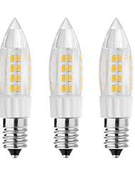 5W E14 G9 G4 Luci LED Bi-pin T 44 SMD 3528 500 lm Bianco caldo Luce fredda Decorativo AC 220-240 V 3 pezzi