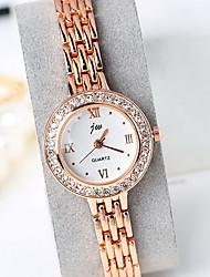 Women's Fashion Watch Digital Watch Quartz Digital Alloy Band Dot Bohemian Casual Silver Gold