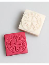 Clover Handmade Soap Letters Shape DIY Handmade Soap Seals Tool Design