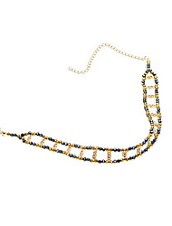 Choker Necklaces Crystal Crystal Alloy Jewelry Fashion Vintage Euramerican Dark Blue Jewelry Daily Casual 1pc