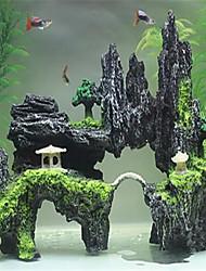 Décoration d'aquarium Ornements Non toxique & Sans Goût Résine