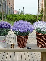 1 Филиал Пластик Светло-голубой Букеты на стол Искусственные Цветы 20*20*30