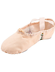 Kids' Dance Shoes Fabric Ballet Flats Flat Heel Performance