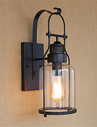 AC 110-130 AC 220-240 40W E26/E27 Rustic/Lodge Country Retro Black Oxide Finish Feature for Bulb Included Eye ProtectionAmbient LightWall