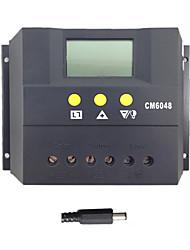 batterie du contrôleur de charge du panneau solaire le mode régulateur de chargeur de PWM lcd 60a
