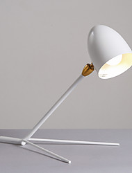 Desk Lamp/Swing Shade/Modern/Contemporary/Painting/110 or 220V/ White