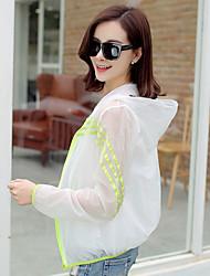 Sign sunscreen clothing female summer 2017 new long-sleeved loose short jacket female outdoor UV sunscreen shirt