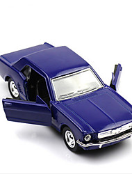 Classic Car Race Car Toys Car Toys 1:28 Plastic Metal Violet Model & Building Toy