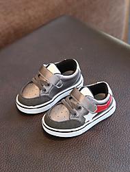 Baby Flats Comfort Patent Leather Summer Casual Outdoor Walking Comfort Magic Tape Flat Heel Black Dark Grey Flat