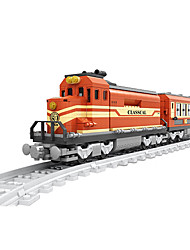 Stress Relievers For Gift  Building Blocks Model & Building Toy Train ABS 5 to 7 Years 8 to 13 Years Orange Toys