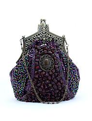 L.WEST Woman's beaded bag dinner bag handmade bag the bride dress package bag