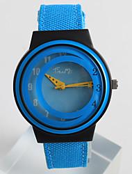 Fashion Watch Quartz / PU Band Casual Blue Grey Brand